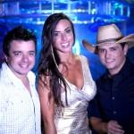 Marcos & Cláudio gravam clipe da nova música com Nicole Bahls