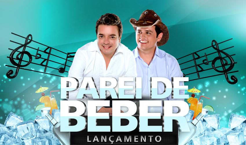 """Marcos & Cláudio lançam """"Parei de beber"""""""