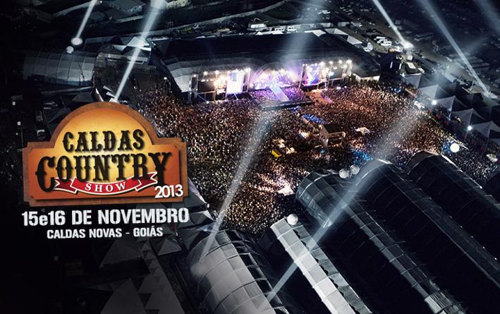 Promoção – 8 DVDs oficiais Caldas Country 2013