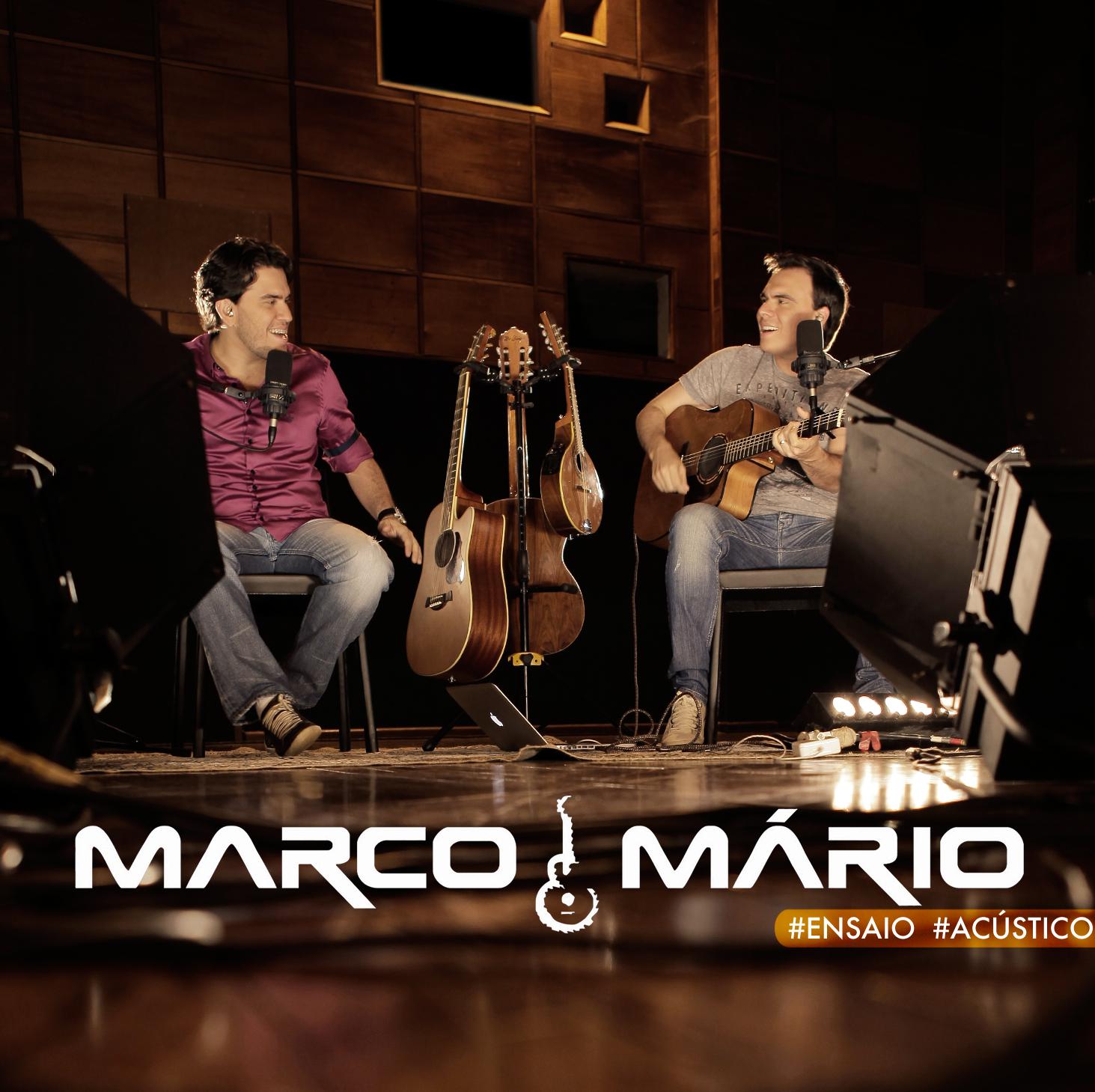 """""""#ensaio #acústico"""" – Marco & Mário divulgam íntegra do novo DVD. Assistam."""