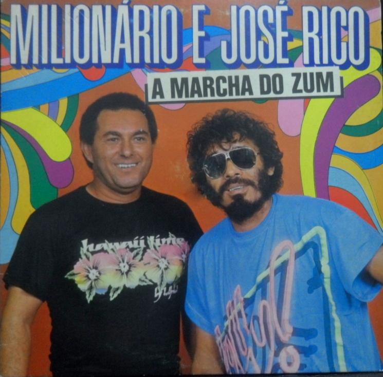 """RARIDADE – """"A marcha do Zum"""": O projeto carnavalesco de Milionário & José Rico"""