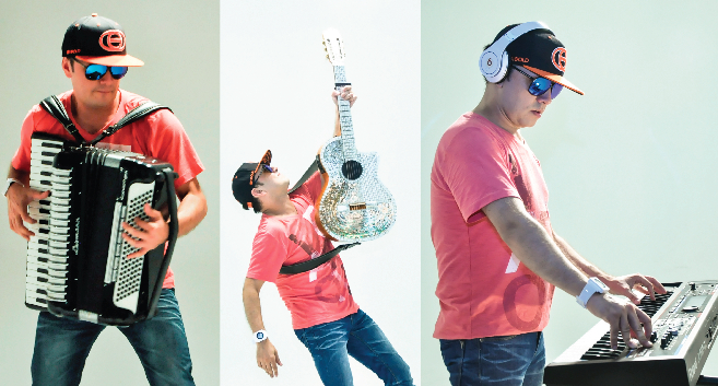 """Gasparzinho e a versão sertanejo eletrônico do hit """"Mirrors"""", de Justin Timberlake"""