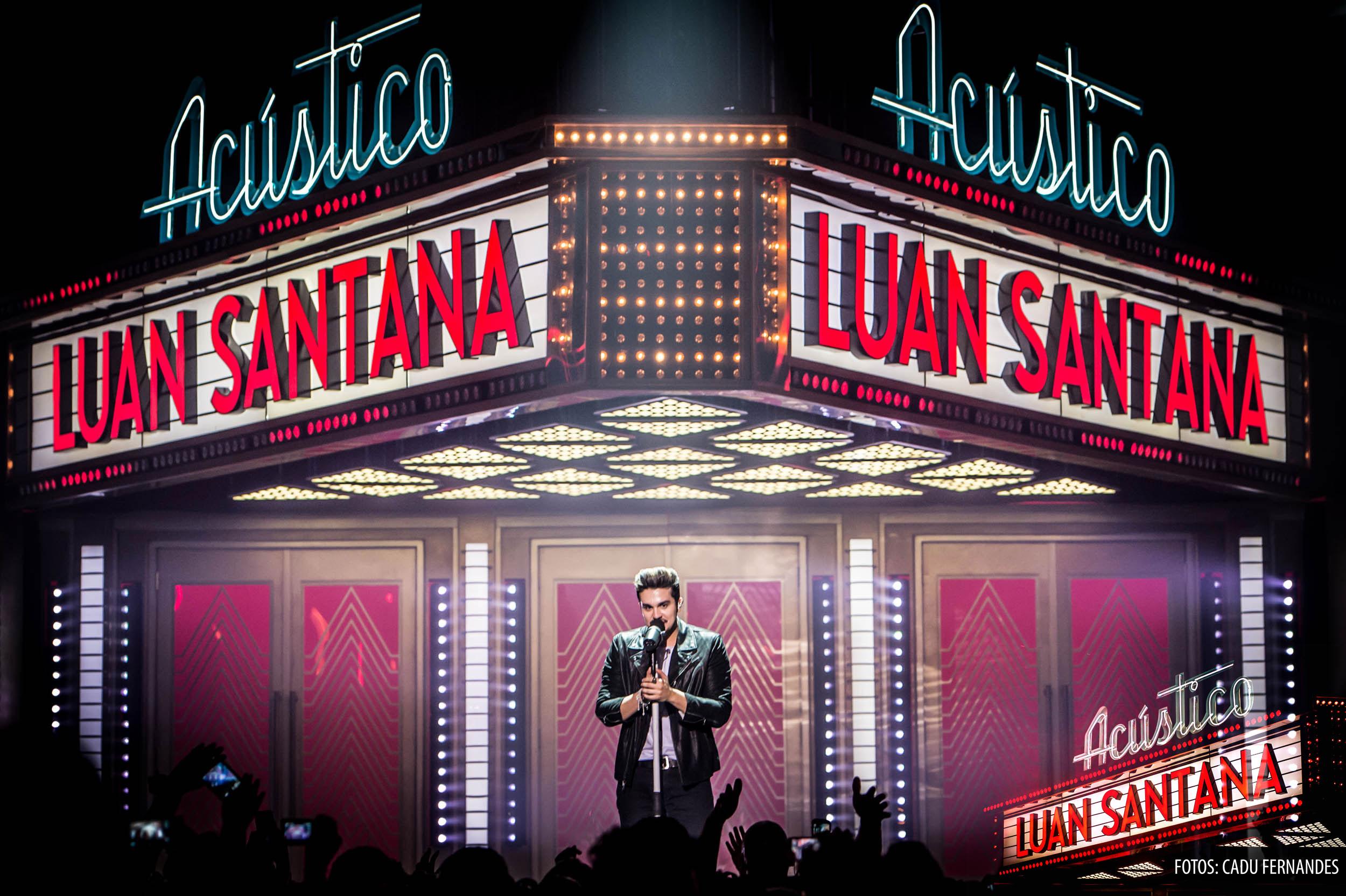 Na estrada – Luan Santana antecipa o provável melhor disco de 2015 na gravação do seu primeiro DVD acústico