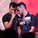 NA ESTRADA – Sob olhares orgulhosos de Luciano Camargo, Dablio & Phillipe lançam CD em Goiânia