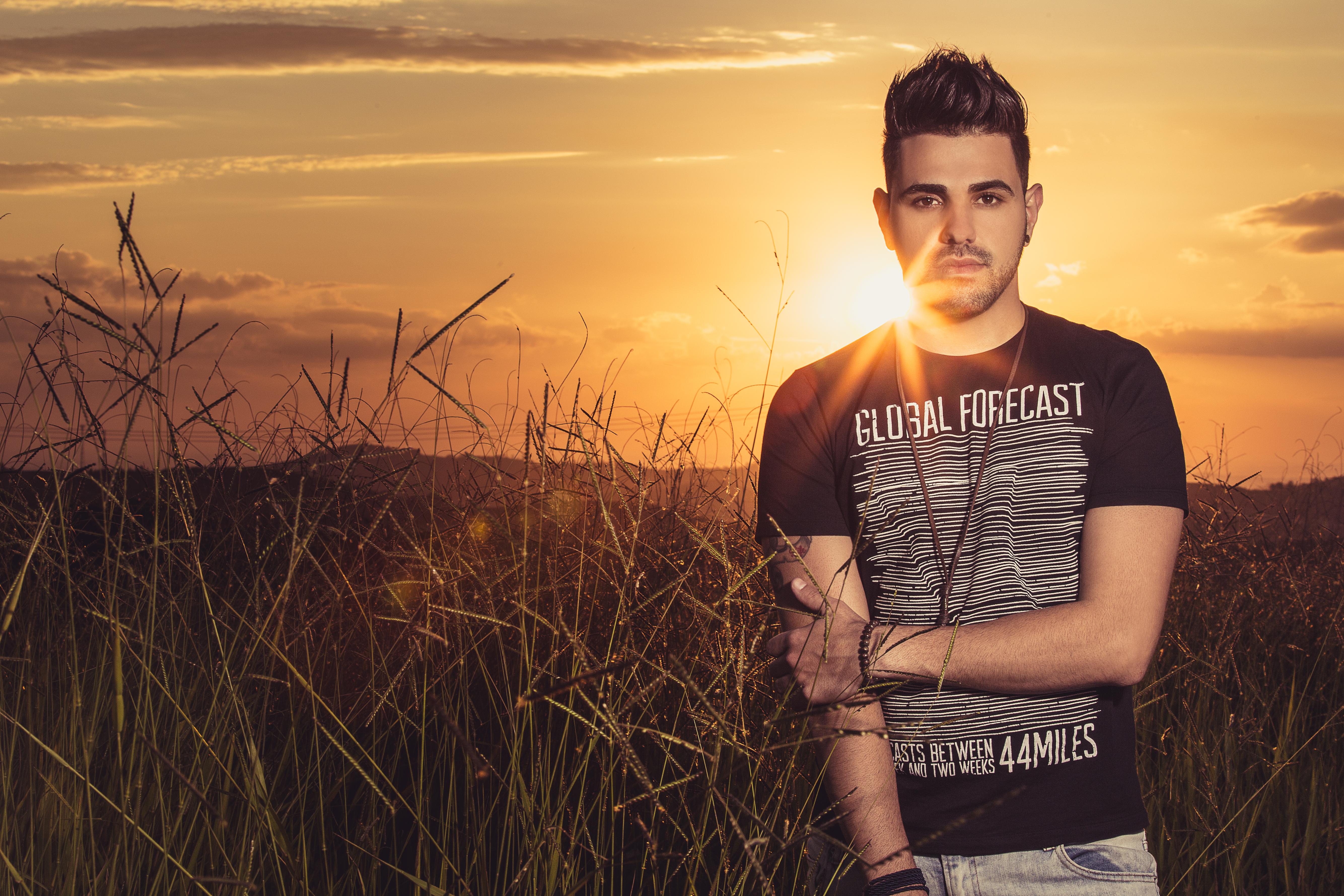 """Até o fim"": Bruno Lacene promove belo clipe"