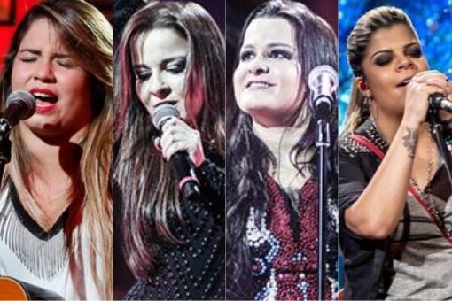 Resultado de imagem para cantoras sertanejas juntas