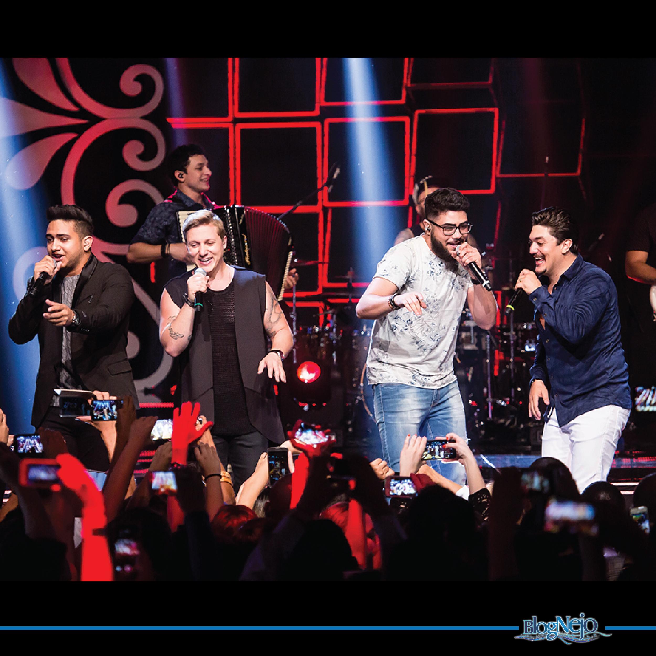 """George Henrique & Rodrigo cantam com Henrique & Juliano na sua nova de trabalho, """"Seu Oposto"""""""