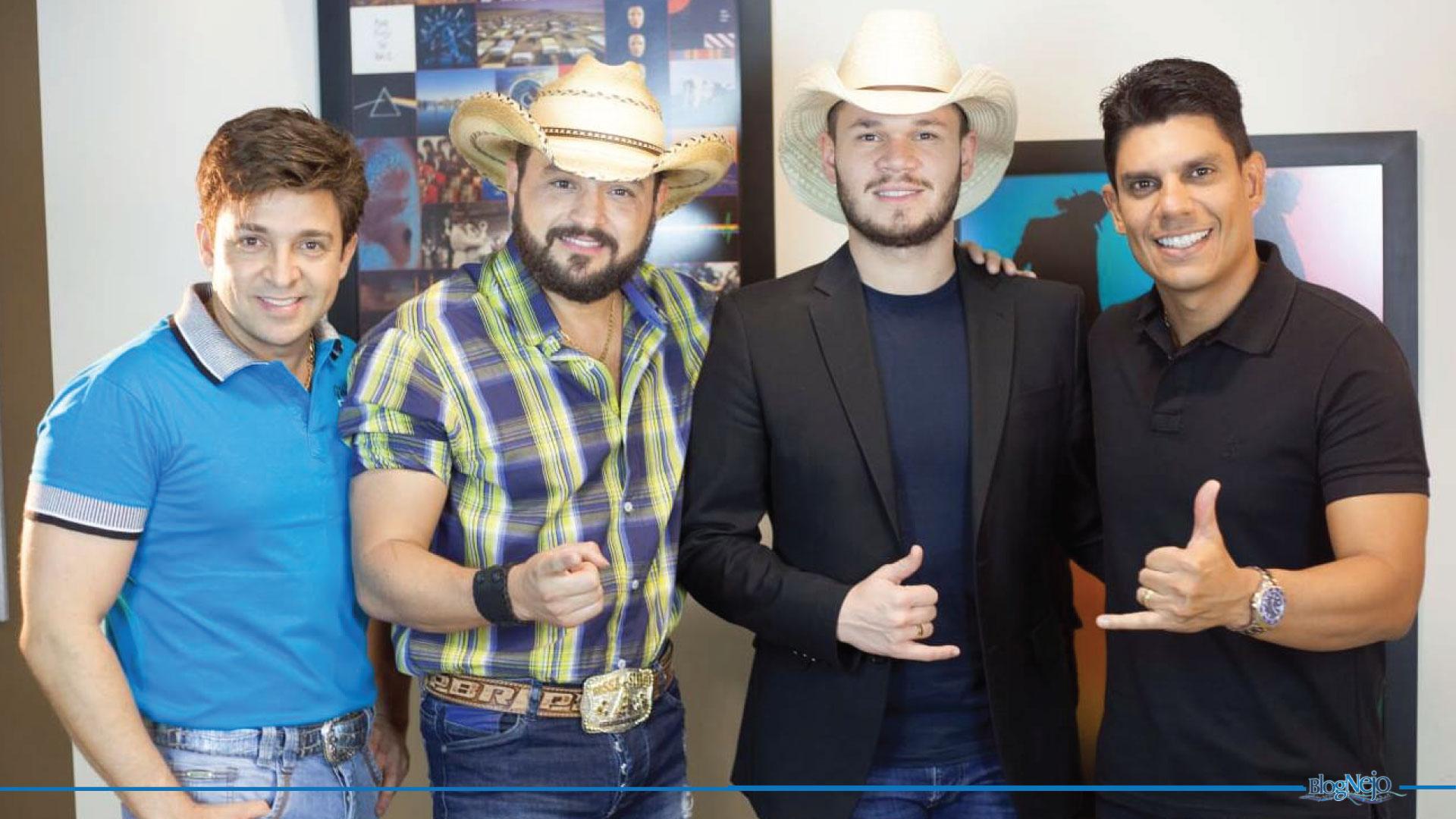 Dany & Diego lançam música com participação de Carreiro & Capataz