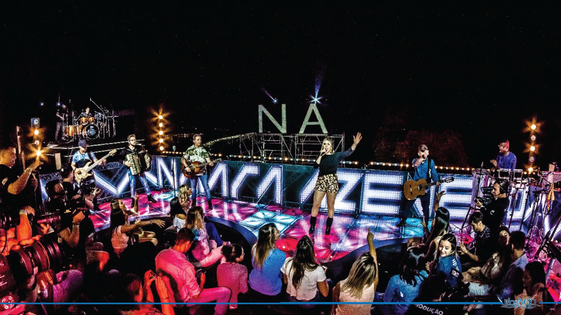 """Naiara Azevedo exalta o Rio de Janeiro no DVD """"Contraste"""""""