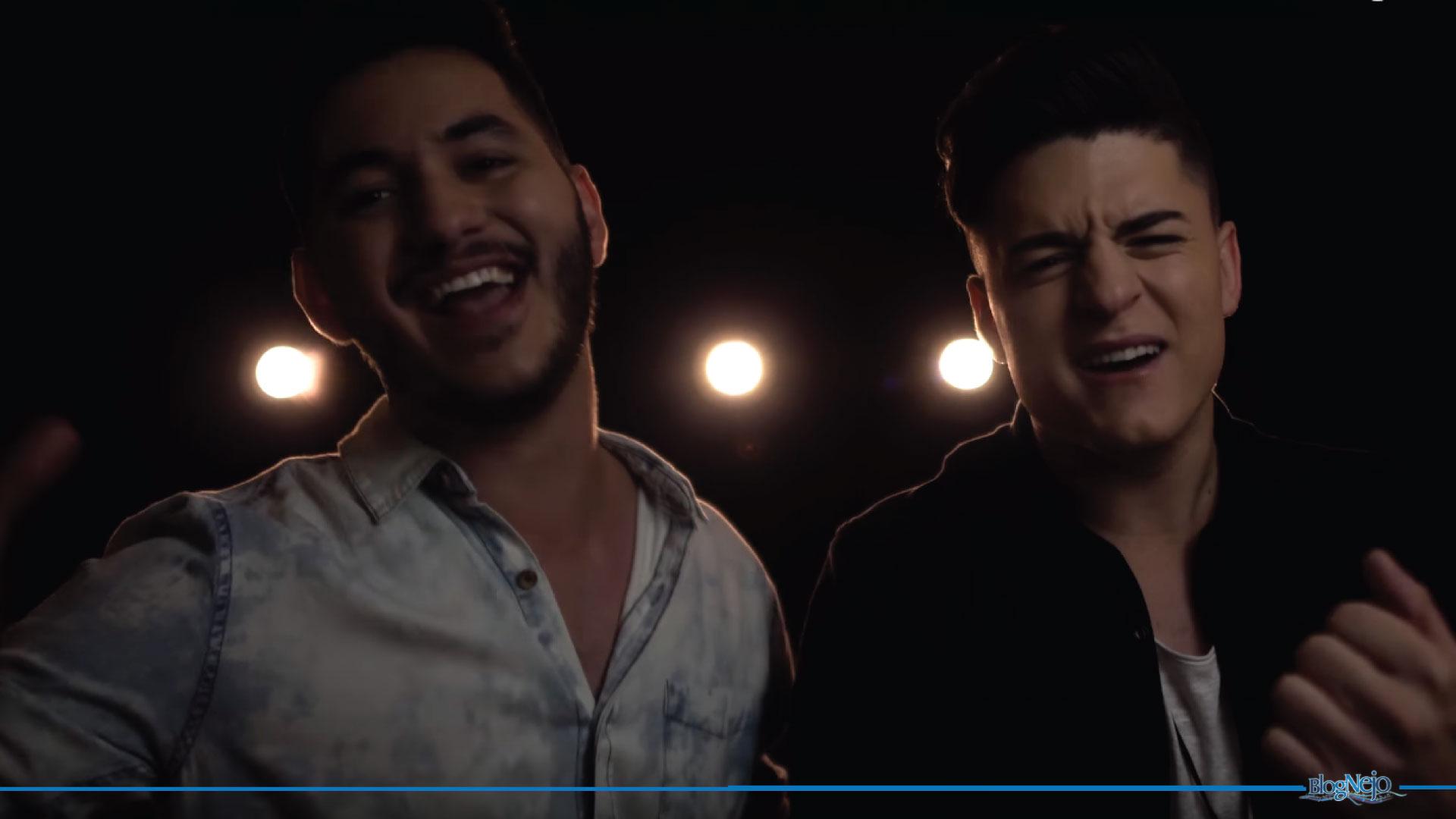 """Dupla nascida dentro da República LKS lança primeira música: Lucca & Roberto cantam """"Judia Não"""""""