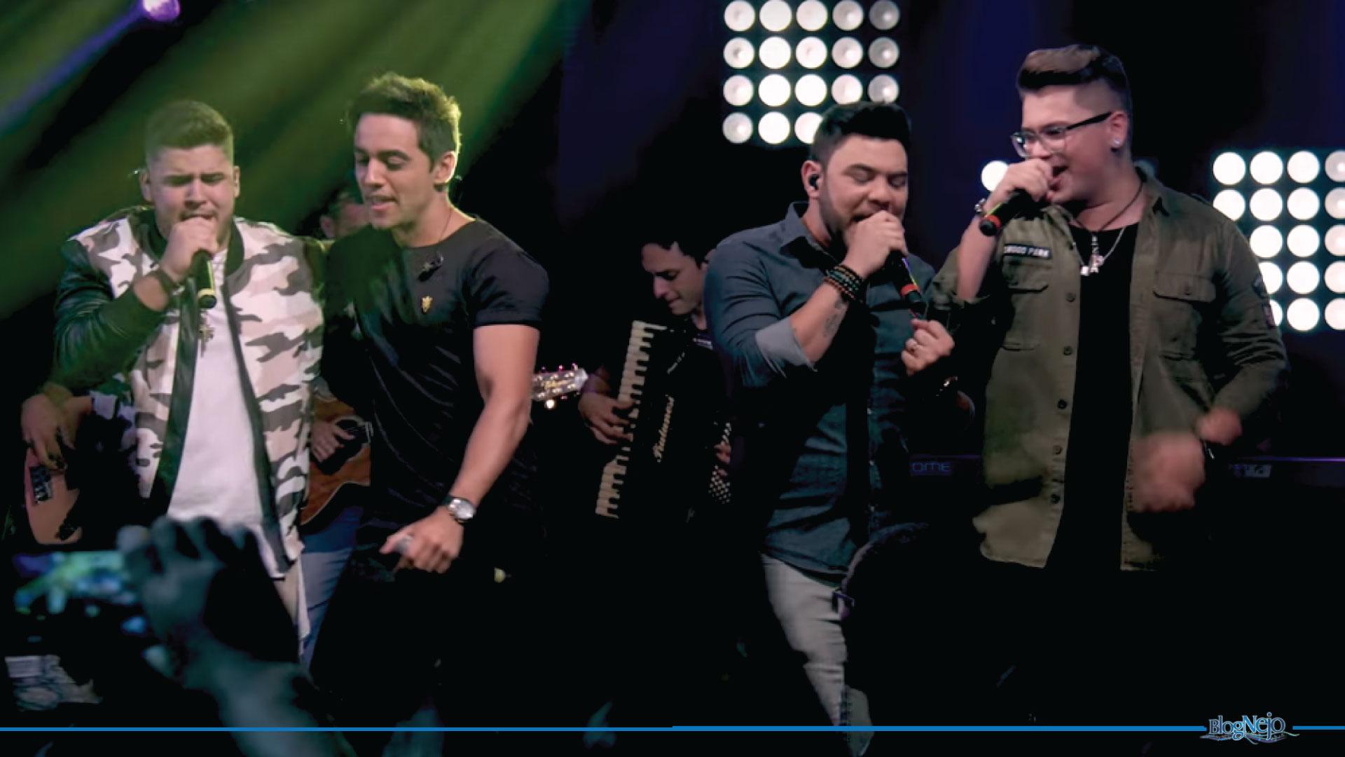 """Sofre Aí"": Victor & Felipe recebem Fred & Gustavo no primeiro DVD"