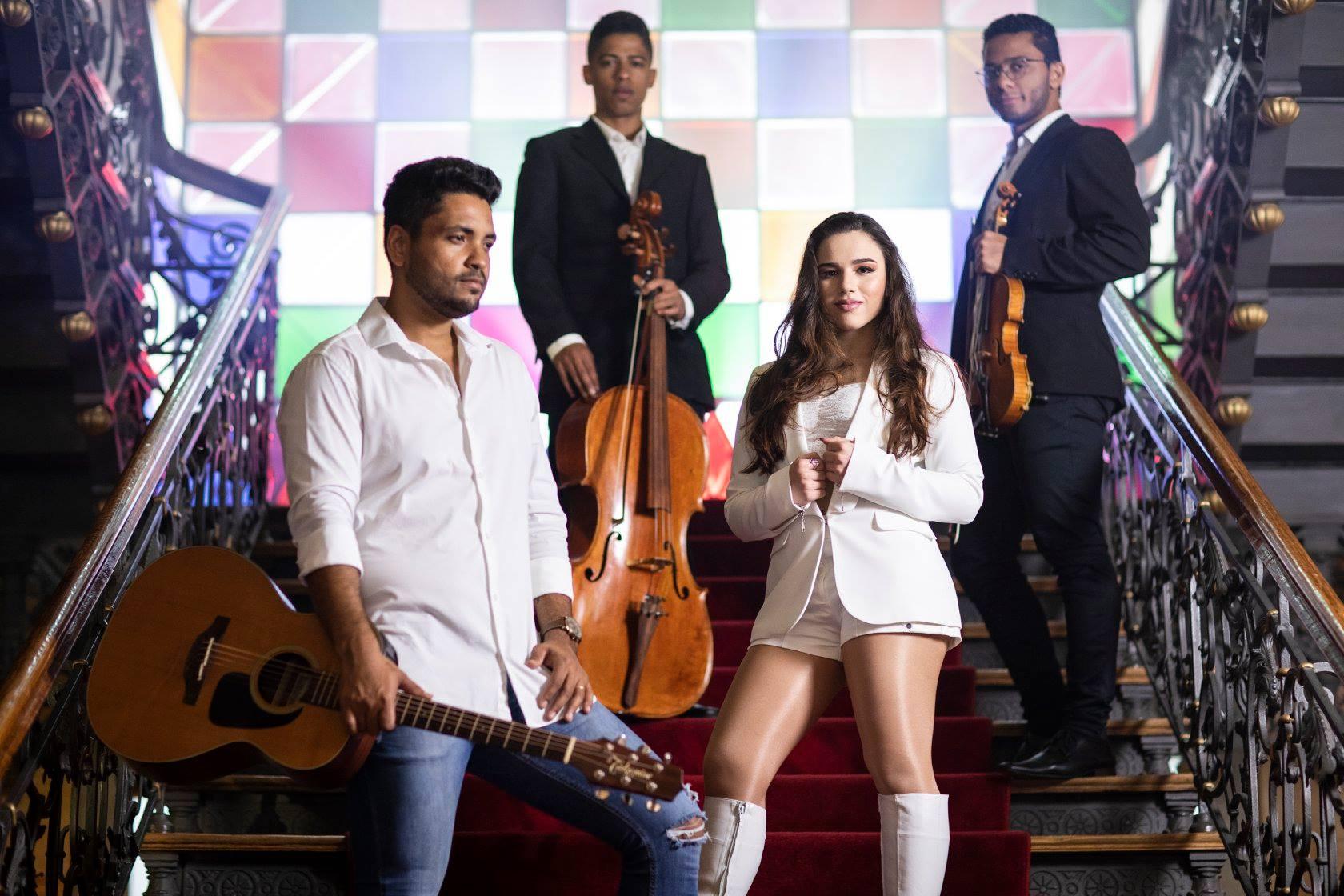 Sofia del Prado divulga música com participação de Fred Liel