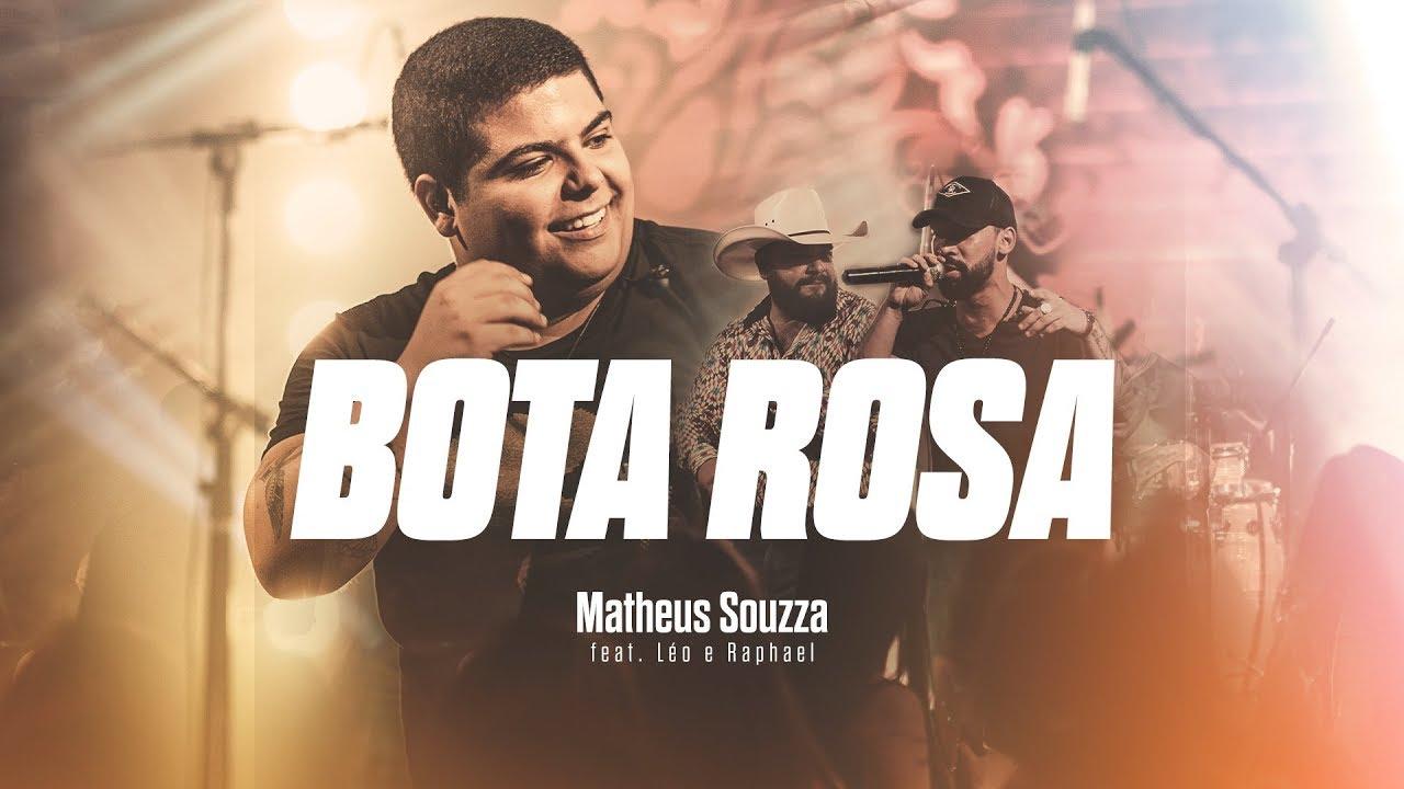 """Bota Rosa"", Matheus Souzza canta com Leo e Raphael"