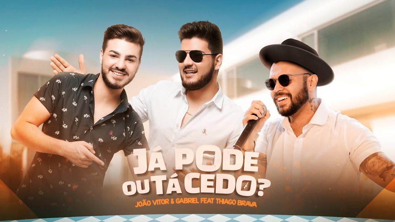 'Já pode ou tá cedo': Nova música de João Vitor e Gabriel com Thiago Brava