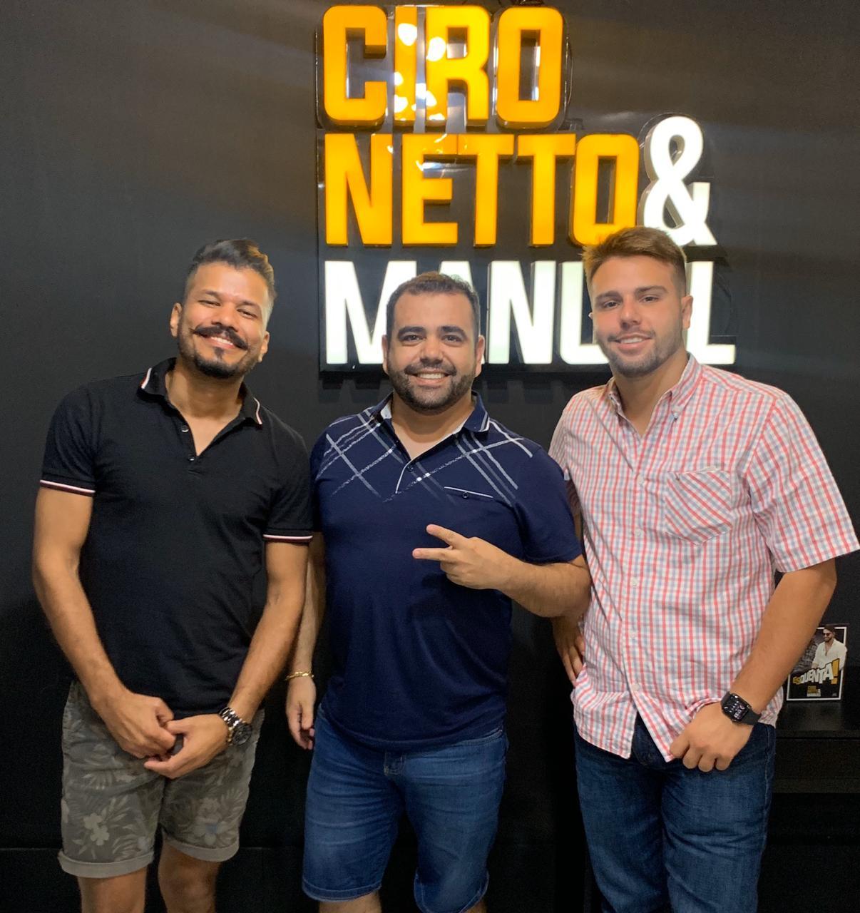 Fábio Borges assume gerenciamento de carreira da dupla Ciro Netto & Manuel