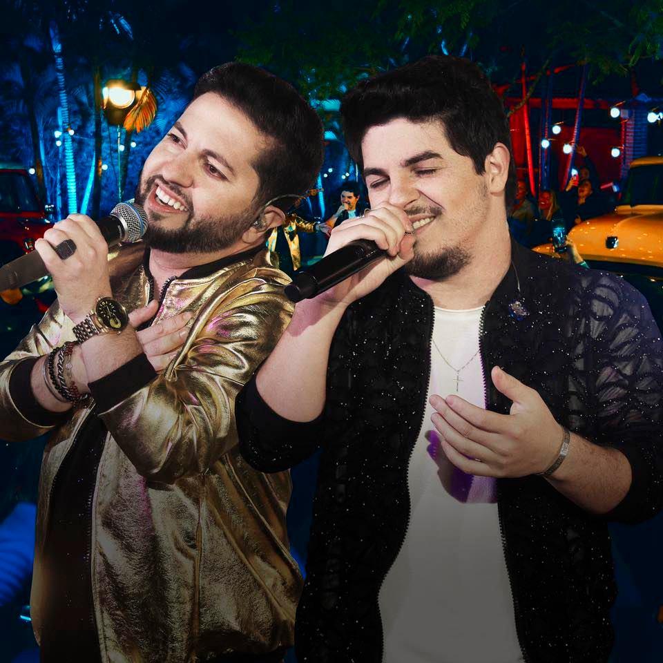 Junior & Cézar anunciam data da próxima live