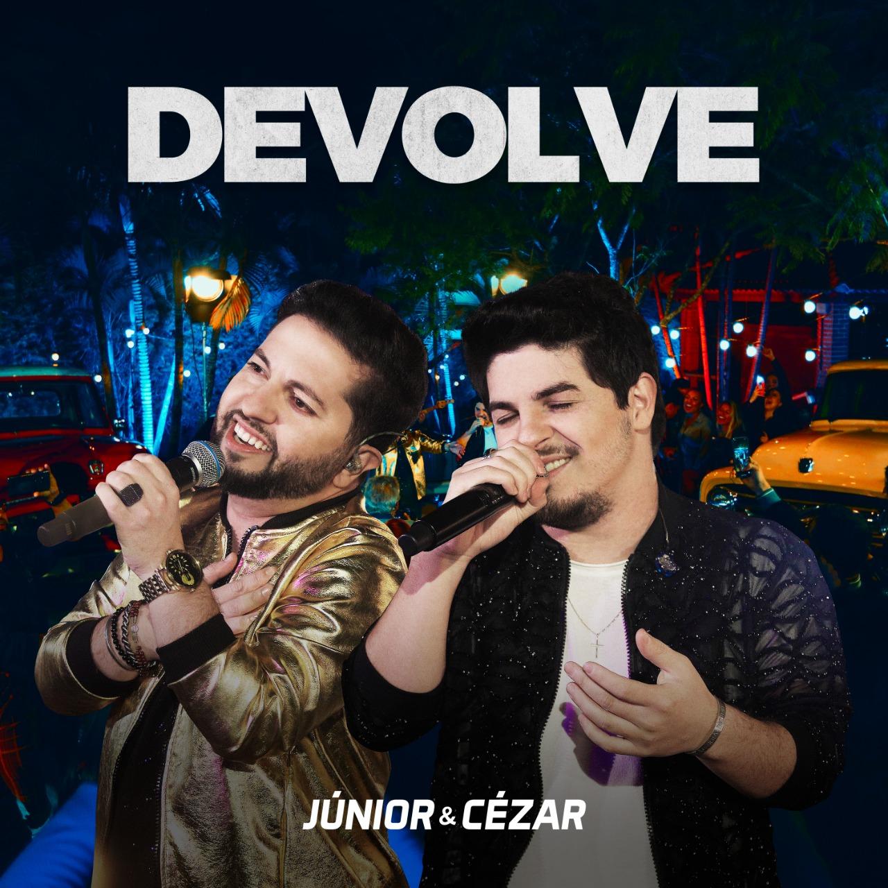 Júnior & Cézar gravam novo projeto audiovisual