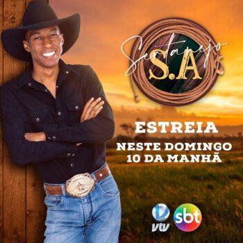 """""""Sertanejo S/A"""" é a nova aposta da VTV SBT para as manhãs de domingo."""