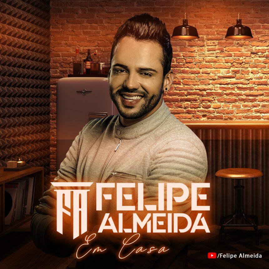 """Felipe Almeida estreia seu novo DVD com """"Vai Saudade"""""""